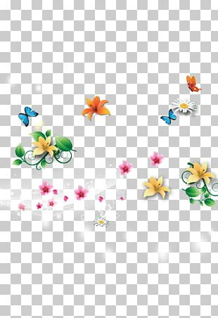 Fairy Tale Butterfly Spring Computer File PNG