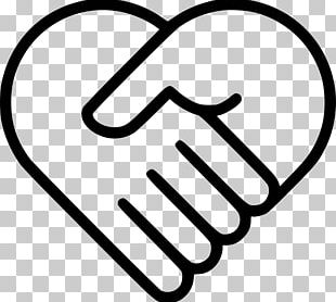 Computer Icons Heart Handshake PNG