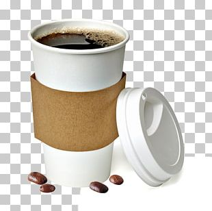 Instant Coffee Coffee Cup Cafe Take-out PNG