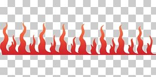 Flame Fire Line Art PNG