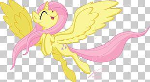 Fluttershy My Little Pony Princess Celestia Winged Unicorn PNG