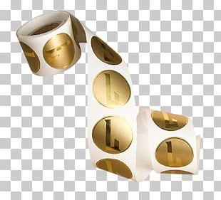 Paper Brass Foil Label Sticker PNG