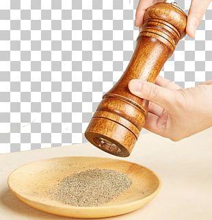 Black Pepper Mill Spice Salt Grinding Machine PNG
