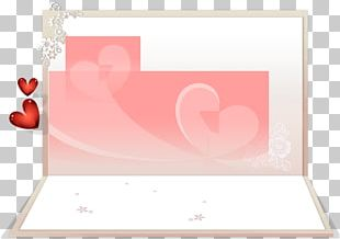 Greeting Card Valentines Day White PNG