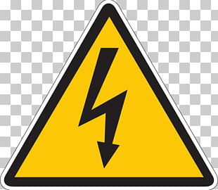 Electricity Electric Arc Warning Sign High Voltage PNG
