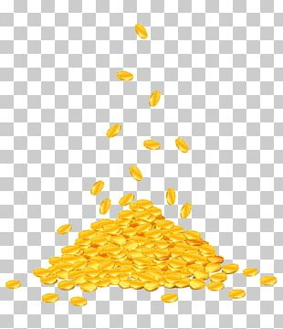 Gold Coin Stock Illustration PNG