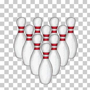 Bowling Pin Ten-pin Bowling Bottle PNG