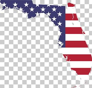 Flag Of Florida Flag Of The United States Map PNG