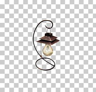 Incandescent Light Bulb Lantern Oil Lamp PNG