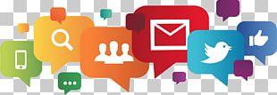 Social Media Digital Marketing Online Presence Management Business Advertising PNG