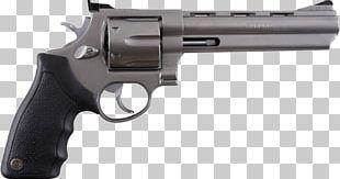 Modern Revolver Handgun PNG