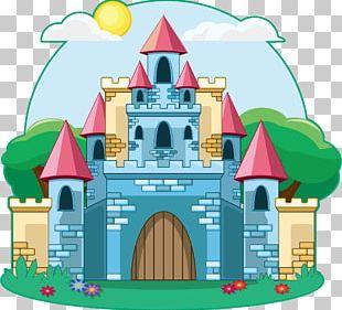 Castle Cartoon Drawing Illustration PNG