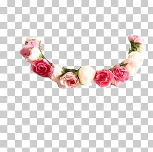Wreath Crown Necklace Flower PNG
