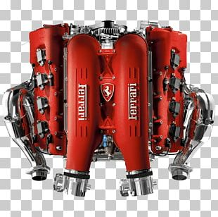 Ferrari Engine PNG