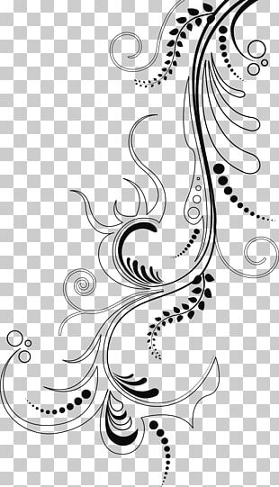 Ornament Floral Design PNG