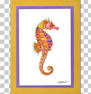Seahorse Art Rectangle PNG