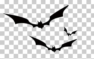 Bat Crows Black And White PNG