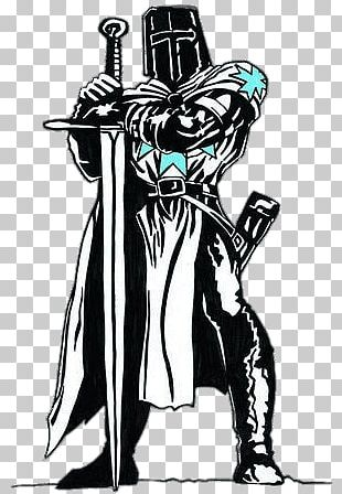 Black And White Knight PNG