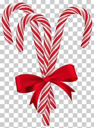 Candy Cane Christmas Card Santa Claus Christmas Tree PNG