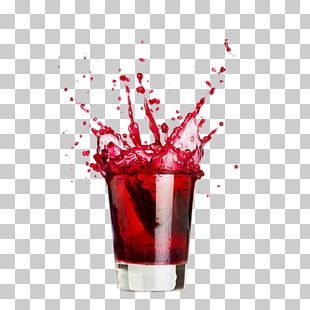 Cocktail Juice Soft Drink Vodka Malibu PNG