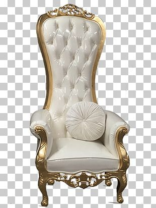 Chair Throne Table Furniture Loveseat PNG