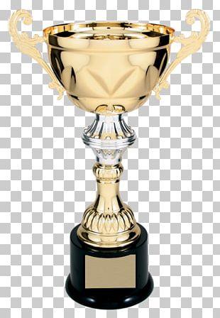Trophy Award Loving Cup Gold Medal PNG