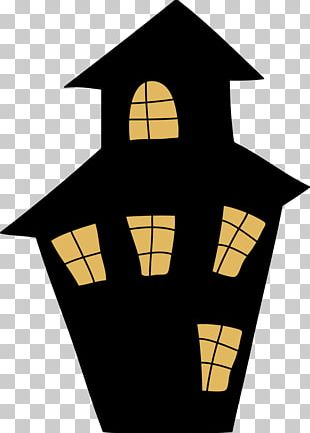 Haunted House Lift-the-Flap Tab: Spooky House Open PNG
