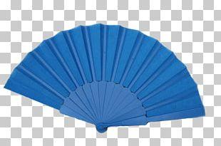 Cobalt Blue Hand Fan T-shirt OsCommerce PNG