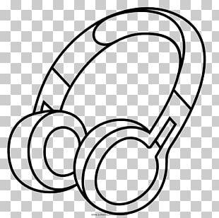 Headphones Drawing Line Art PNG