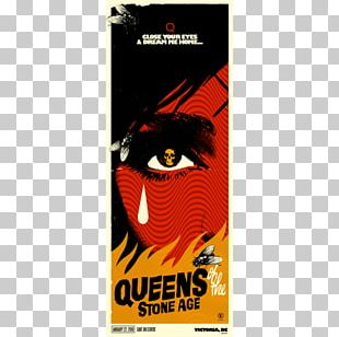 Poster Victoria Queens Of The Stone Age Villains World Tour Rated R PNG