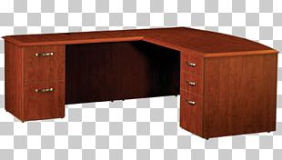 Desk Office Depot Furniture File Cabinets PNG