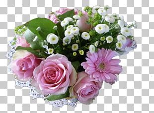 Garden Roses Cabbage Rose Flower Bouquet PNG