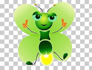 Butterfly Cartoon Light PNG