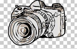 Camera Lens Drawing Photography PNG