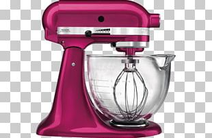KitchenAid Mixer Food Processor Home Appliance Small Appliance PNG