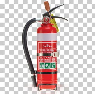 Fire Extinguisher ABC Dry Chemical Hose Smoke Detector PNG