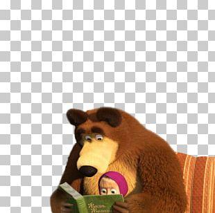 Masha Bear Animation 3D Computer Graphics PNG
