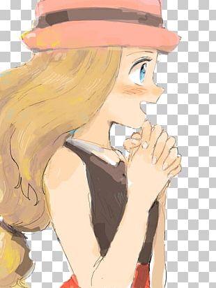 Serena Ash Ketchum Pokémon Fan Art PNG