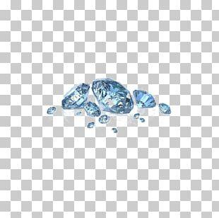 Diamond Color Gemstone Jewellery Blue Diamond PNG