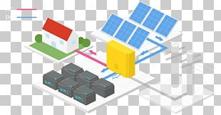Solar Power Stand-alone Power System Electricity Generation Photovoltaic Power Station Electrical Grid PNG