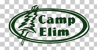 Camp Elim Woodland Park Climbing Wall Camping Logo PNG