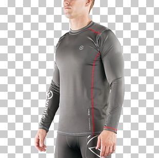 Crew Neck Rash Guard Sleeve Wetsuit Shorts PNG