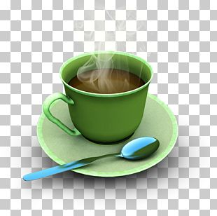 Cup Green Tea Coffee PNG