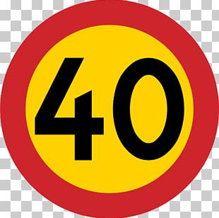 Speed Limit Traffic Sign Kilometer Per Hour Road PNG