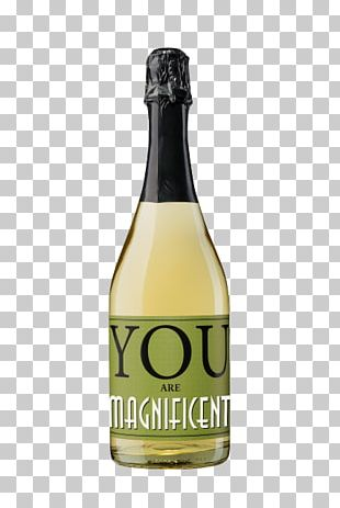 Champagne White Wine Glass Bottle Liqueur PNG