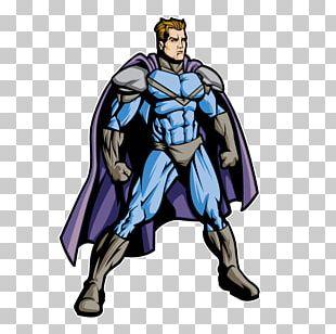 Superhero Fiction Costume Muscle Animated Cartoon PNG