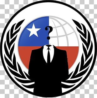 Anonymous Chile Hacker Anonops Anonymity PNG
