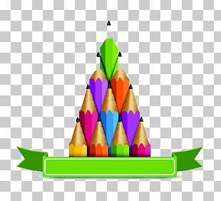Colored Pencil Illustration PNG