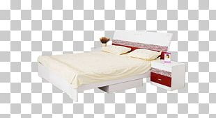 Nightstand Table Bed Frame Furniture PNG