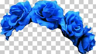 Flower Crown Blue PNG